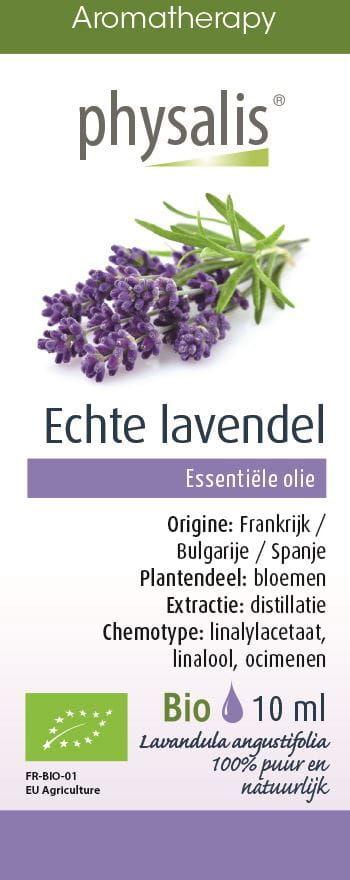 Olejek eteryczny lawenda wąskolistna (echte lavendel) bio 10 ml - physalis