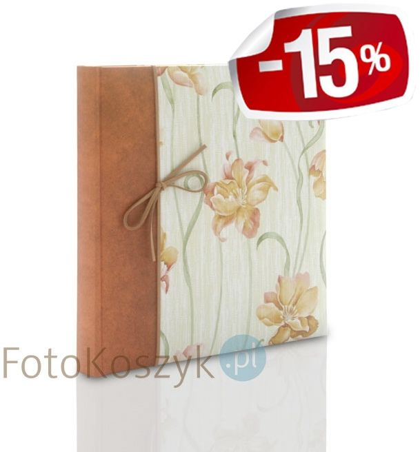 Mały album na zdjęcia wklejane Jardim Orange Zep (40 białych stron)