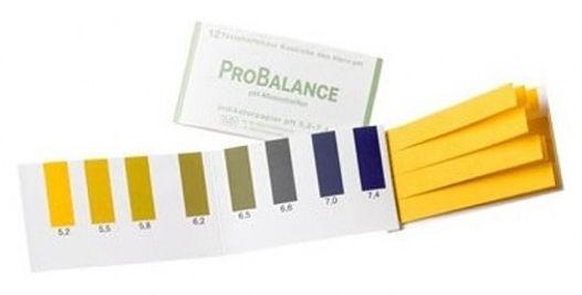 LR Paski Pro Balance do pomiaru pH moczu