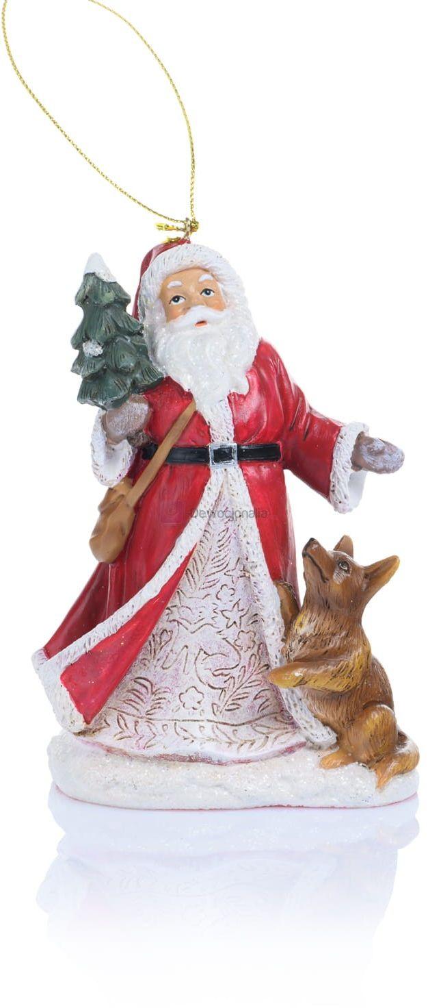 Święty Mikołaj - zawieszka - 12,5cm
