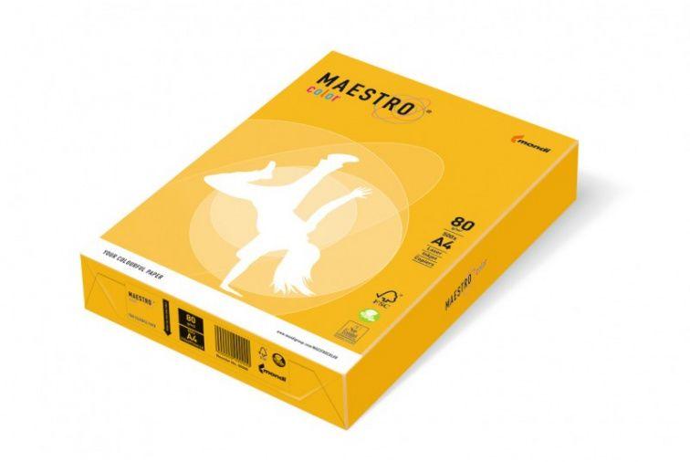 Papier Mondi MAESTRO Color Intensiv - SY40 - żółty słoneczny (A4/80 g/m2) - 5 ryz (SY40)