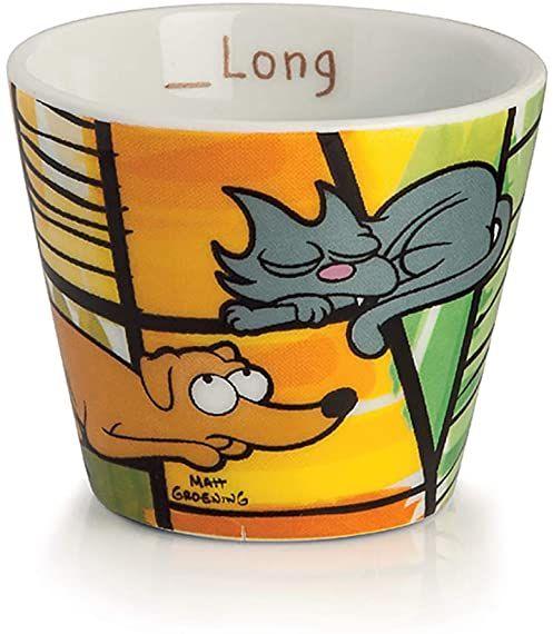 Egan PTS83/2G kubek do kawy, model ps/kot, porcelana, wielokolorowy, 2 sztuki