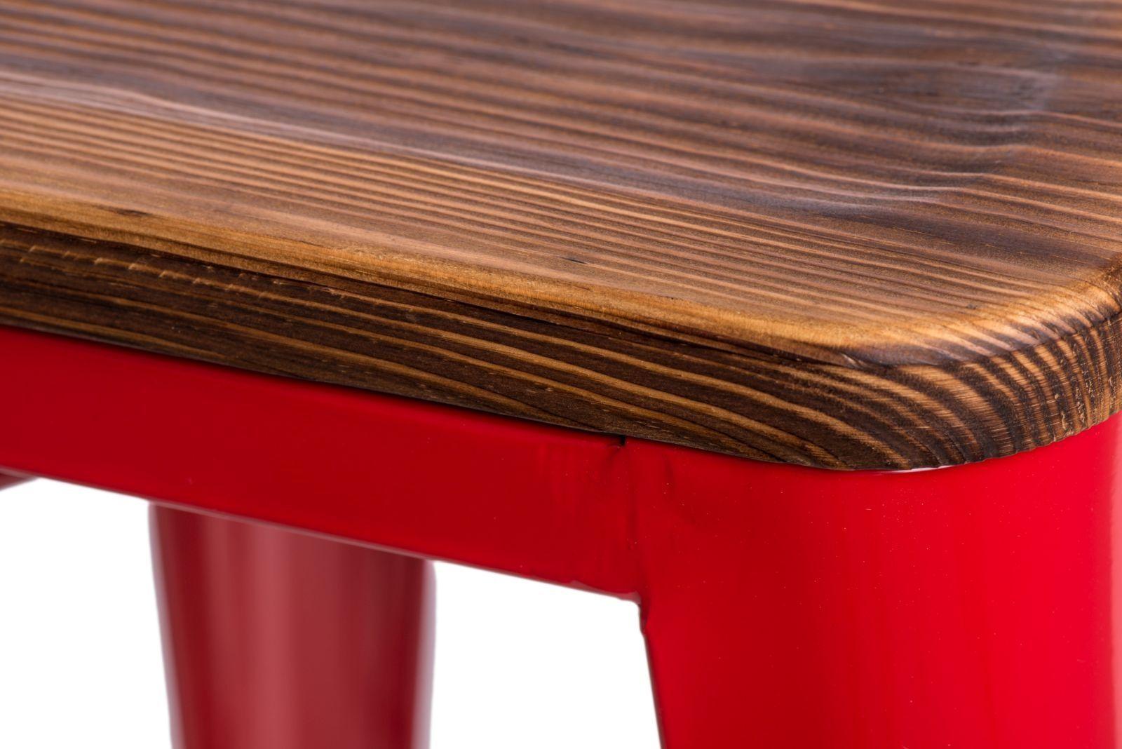 D2 Hoker Paris Wood 75cm czerwony sosna