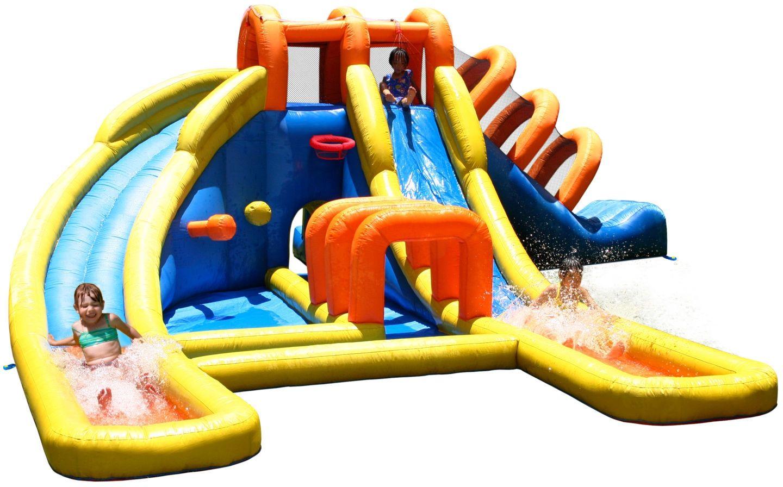 Dmuchany Wielki Aqua Park Happy Hop