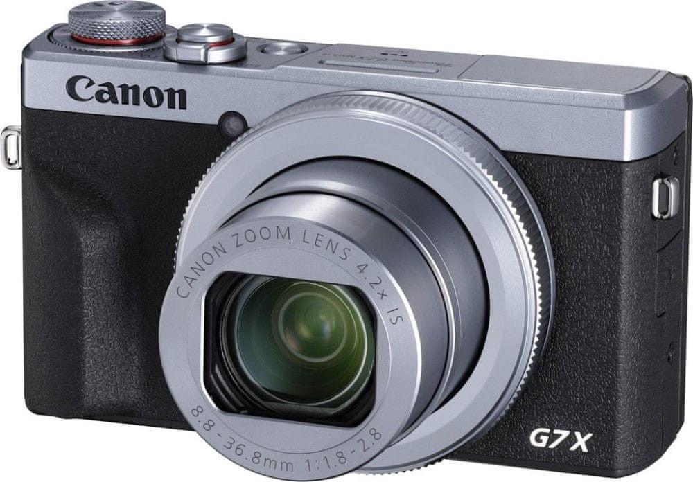 Canon PowerShot G7X Mark III Srebrny