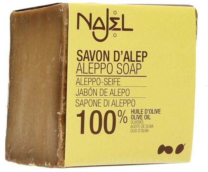 Mydło Aleppo Oliwkowe Oliwka 100% NAJEL 170g