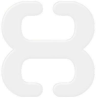 Klips ściągający ramiączka przeźroczysty BA 13