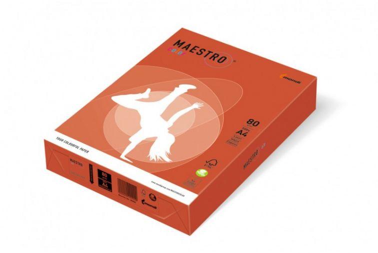 Papier Mondi MAESTRO Color Intensiv - ZR09 - czerwień ceglasta (A4/80 g/m2) - 5 ryz (ZR09)