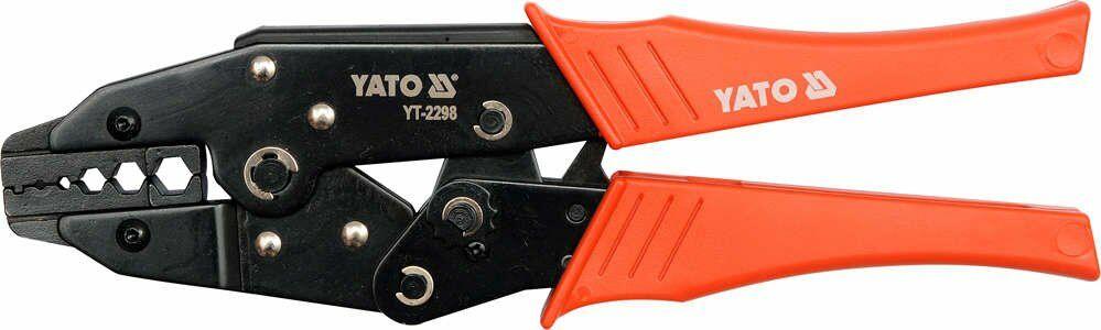 Szczypce do zaciskania konektorow antenowych rg6-rg62 Yato YT-2298 - ZYSKAJ RABAT 30 ZŁ