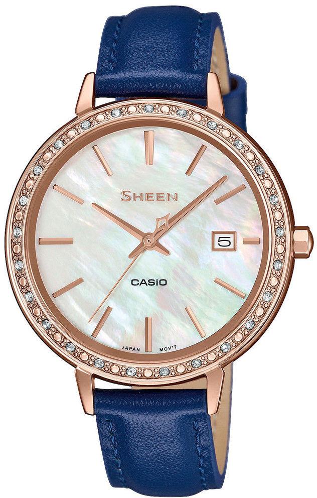 Zegarek Casio SHE-4052PGL-7AUEF - CENA DO NEGOCJACJI - DOSTAWA DHL GRATIS, KUPUJ BEZ RYZYKA - 100 dni na zwrot, możliwość wygrawerowania dowolnego tekstu.