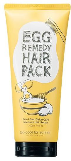 Egg Remedy Hair Pack regenerująca odżywka do włosów 200 g