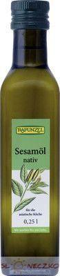 Olej sezamowy BIO 250 ml Rapunzel