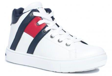 Tommy Hilfiger 0739X008 półbuty trampki trzewiki sneakers białe