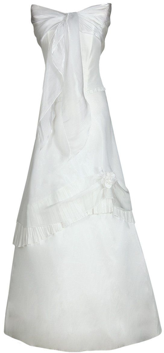 Sukienki Sukienka Suknie FSU076 BIAŁY