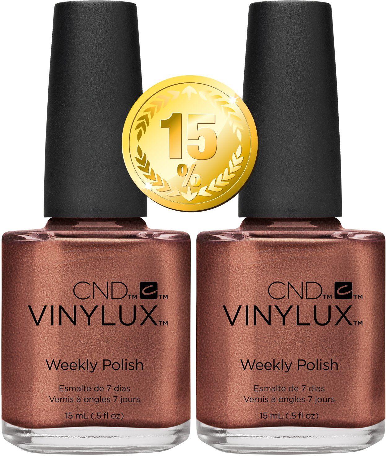 CND Vinylux Sachel # 225 15 ml Pack of 2 - Craft Culture Collection Autumn 2016, 50 g