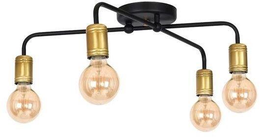 Industrialna lampa sufitowa plafon DYLAN 4xE27 MLP4806