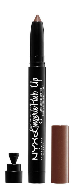 NYX Professional Makeup - Lip Lingerie Push-Up Long Lasting Lipstick - Matowa pomadka do ust w kredce - 10 TEDDY