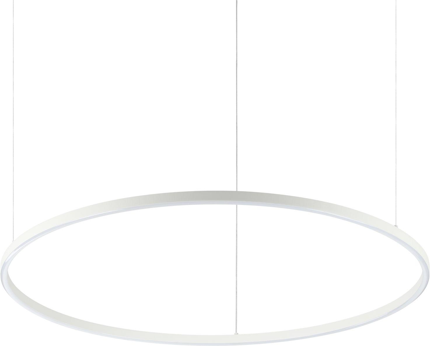 Lampa wisząca Oracle Slim 229478 Ideal Lux nowoczesna oprawa w kolorze białym