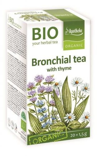 Herbatka NA OSKRZELA z tymiankiem BIO 20 x 1,5 g Apotheke