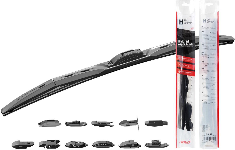 """Wycieraczka samochodowa hybrydowa hybrid multiconnect 26"""" (650mm) 11 adapterów"""