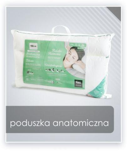 AMZ ANATOMICZNA (ortopedyczna) PODUSZKA mikrofibra materacowa 50x60