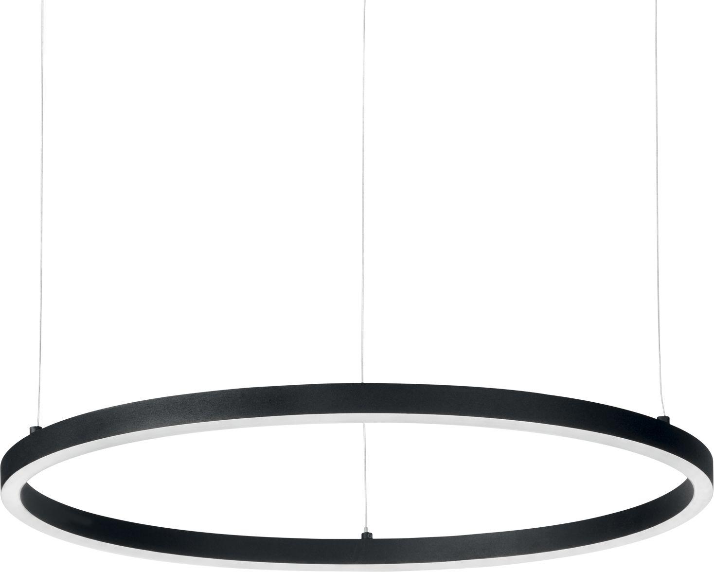 Lampa wisząca Oracle Slim 229508 Ideal Lux nowoczesna oprawa w kolorze czarnym