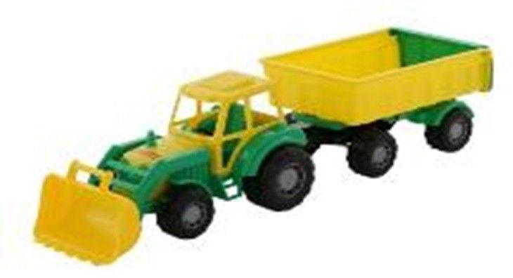 Pojazd Majster, traktor z przyczepą Nr1