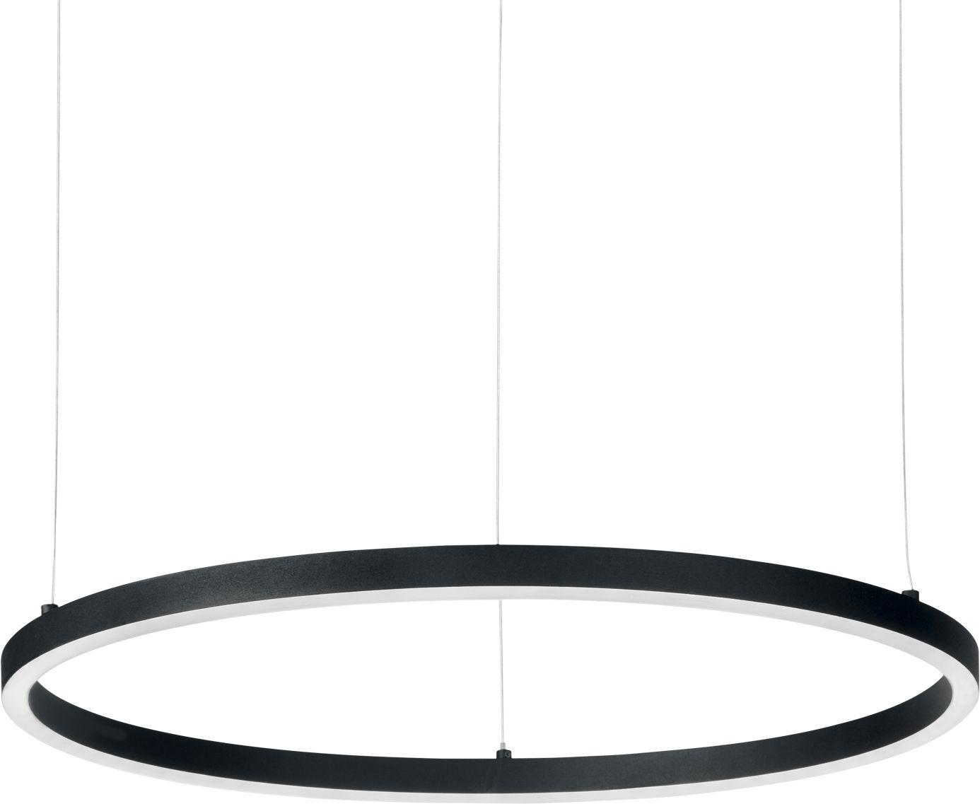 Lampa wisząca Oracle Slim 229515 Ideal Lux nowoczesna oprawa w kolorze czarnym
