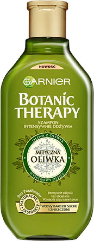 GARNIER - BOTANIC THERAPY - Intensywnie odżywiający szampon do włosów bardzo suchych i zniszczonych - Mityczna Oliwka - 250 ml