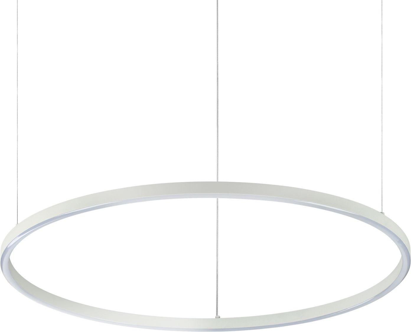 Lampa wisząca Oracle Slim 229485 Ideal Lux nowoczesna oprawa w kolorze białym