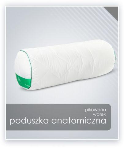 AMZ ANATOMICZNA (ortopedyczna) PODUSZKA (wałek) mikrofibra 15x45