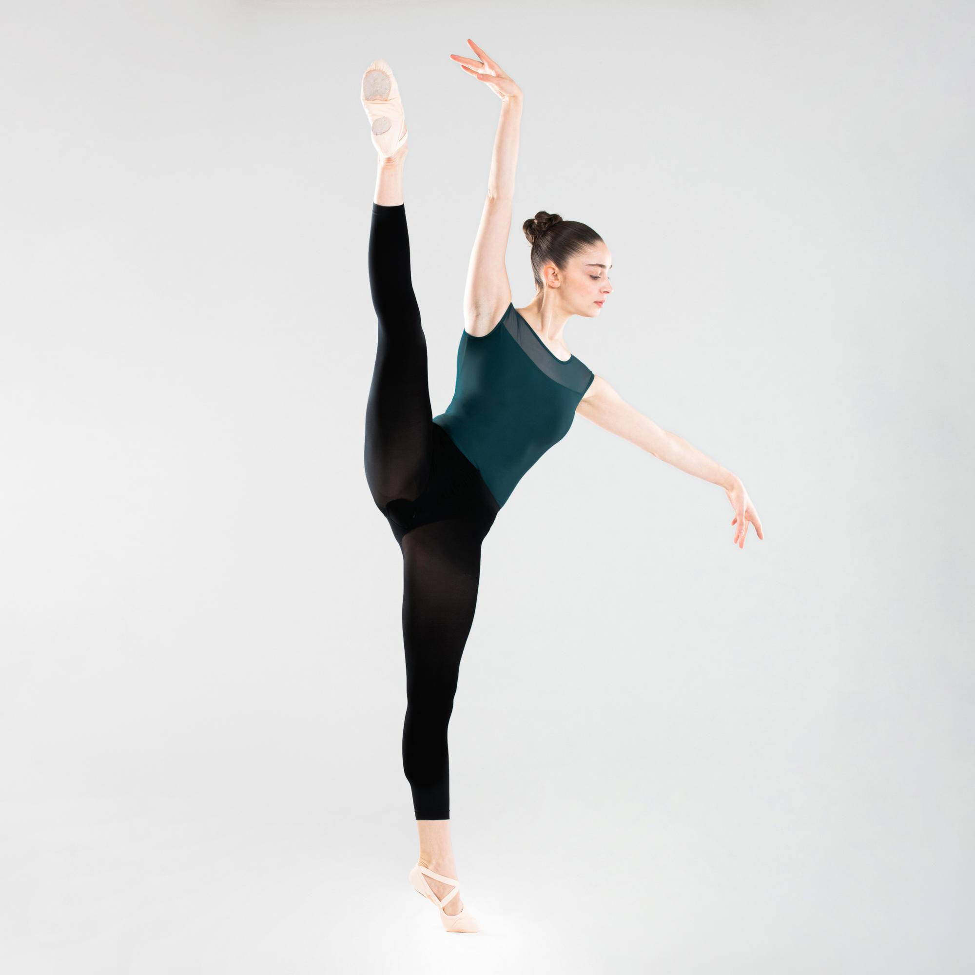 Body do tańca klasycznego krótki rękaw damskie