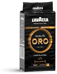 Lavazza Qualita Oro Czarna Mountain Grown 100% Arabica - kawa mielona 250g