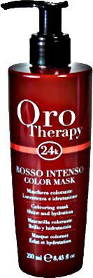 Fanola OroTherapy Rosso Red maska koloryzująca czerwień rudy 250ml
