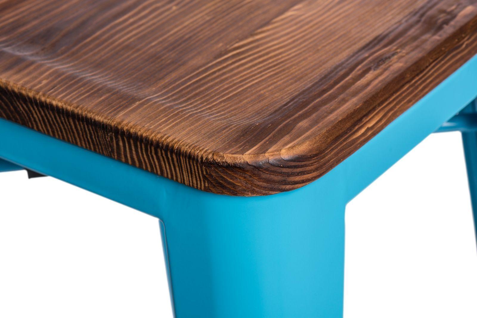 D2 Hoker Paris Wood 75cm niebieski sosna