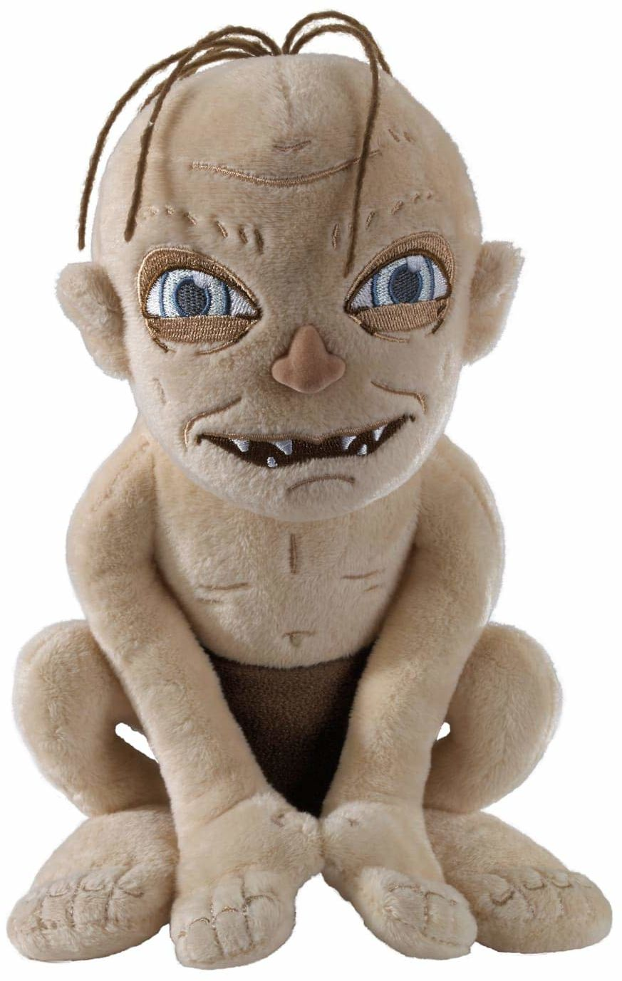 The Noble Collection Gollum Plush Officially Licensed 9in (23cm) Lord Of The Rings Toy Dolls LOTR Plush - For Kids & Adults