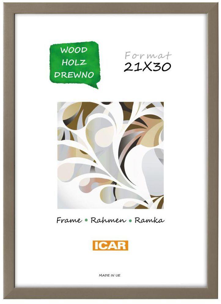 Ramka na zdjęcia Pinia 21 x 30 cm kawowa drewniana