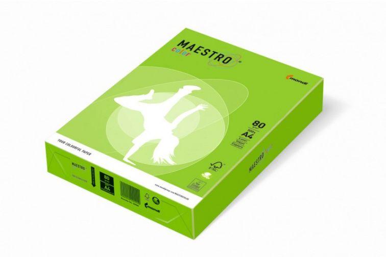 Papier Mondi MAESTRO Color Intensiv - MA42 - zieleń wiosenna (A4/80 g/m2) - 5 ryz (MA42)