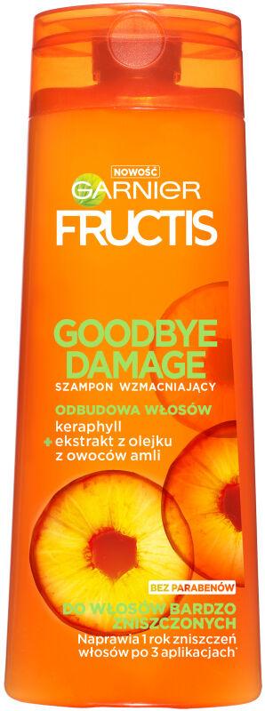 GARNIER - FRUCTIS - GOODBYE DAMAGE - Wzmacniający szampon do włosów zniszczonych - 250 ml