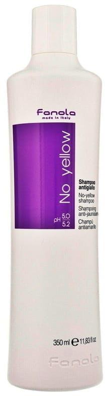 Fanola No Yellow szampon blond włosy siwe 350ml