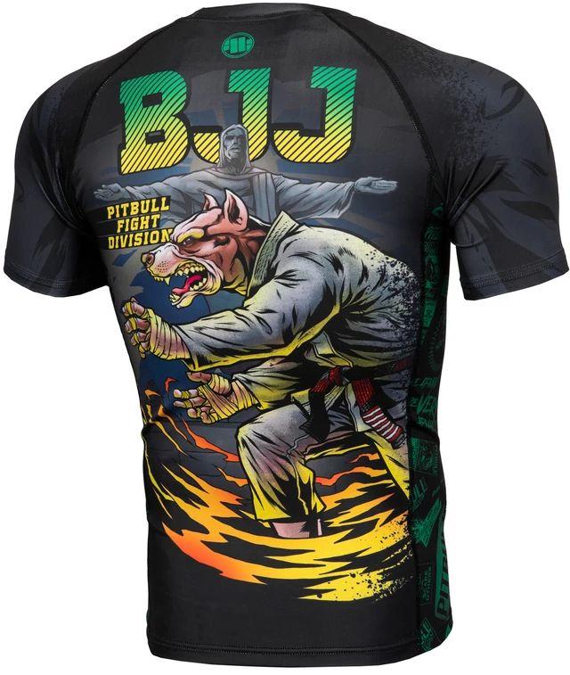 RASHGUARD PIT BULL MASTERS OF BJJ