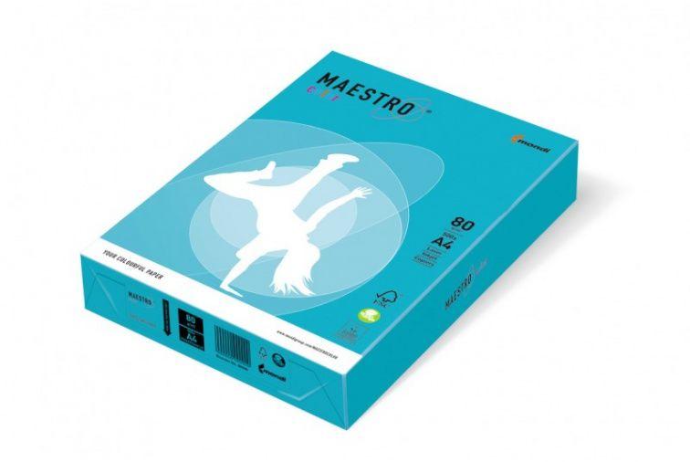 Papier Mondi MAESTRO Color Intensiv - AB48 - błękitny (A4/80 g/m2) - 5 ryz (AB48)
