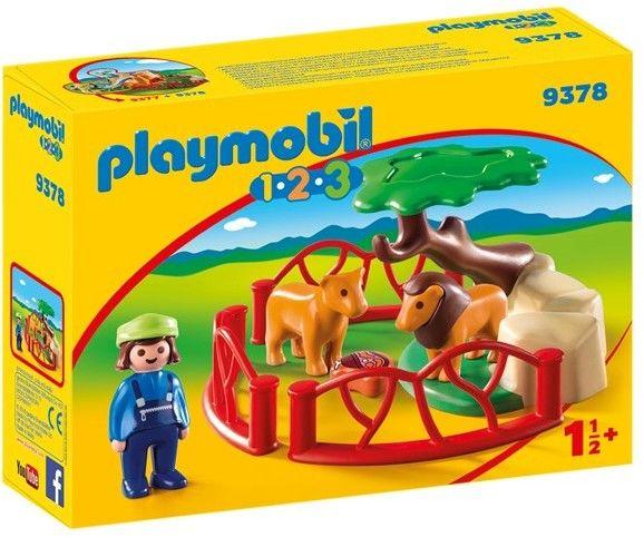 Playmobil - Zagroda lwów 9378