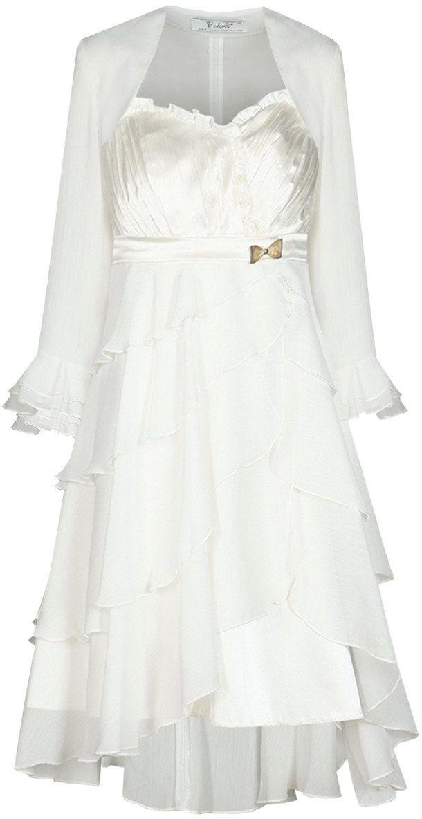 Sukienka FSU183 EKRI