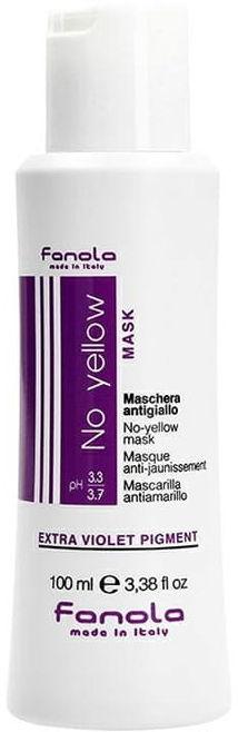 Fanola No Yellow maska blond włosy siwe 100ml