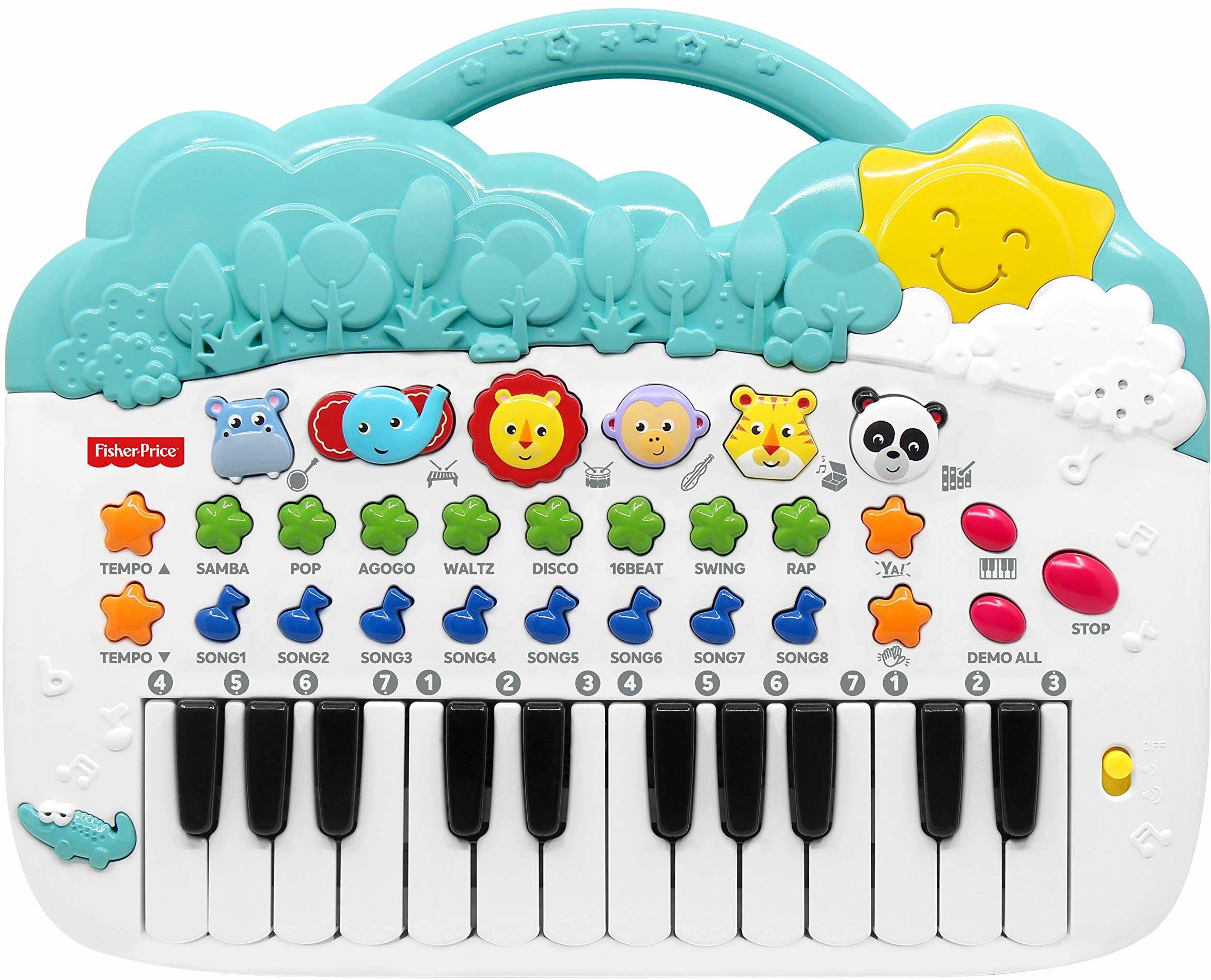 Fisher-Price Animal Piano Zabawka Muzyczna