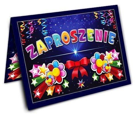 Zaproszenie na urodziny 1 sztuka ZX6600