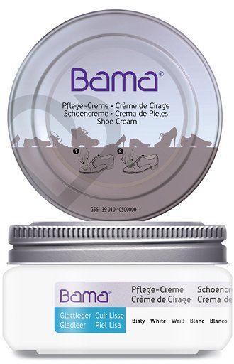 Krem do obuwia BAMA Premium 002 Biały 50ml w słoiczku