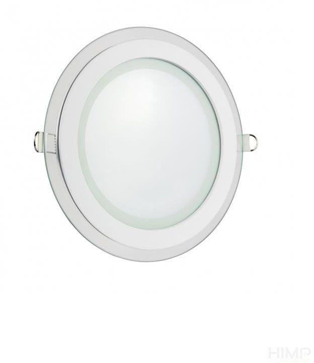 FIALE ECO LED ROUND 230V 18W IP20 NW SUFITOWE oczko szklane