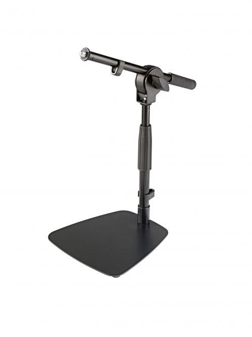 K&M 25995-300-55 biurkowy statyw mikrofonowy, czarny
